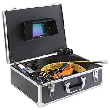 Photo d'une valise pour faire un audit vidéo de conduit par la parisienne de ramonage
