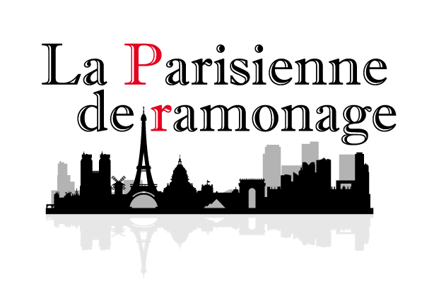 Logo illustré de la parisienne de ramonage